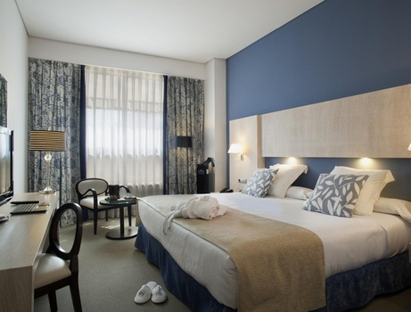 CHAMBRE DELUXE Hôtel Nuevo Boston Madrid-Aéroport