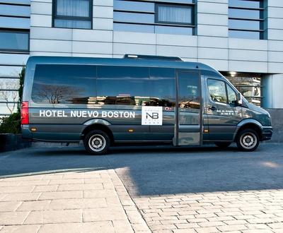 Transfer gratuit Hôtel Nuevo Boston