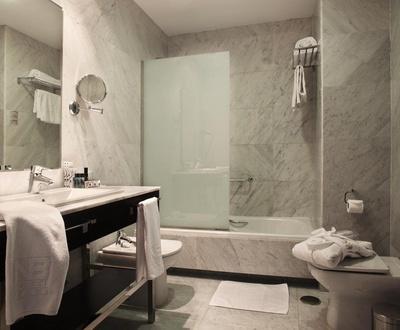Salle de bain Hôtel Nuevo Boston